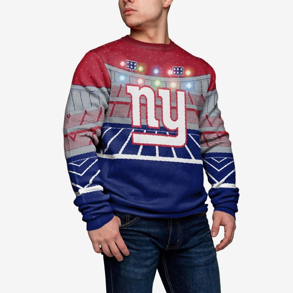 New York Giants Light Up Bluetooth Sweater
