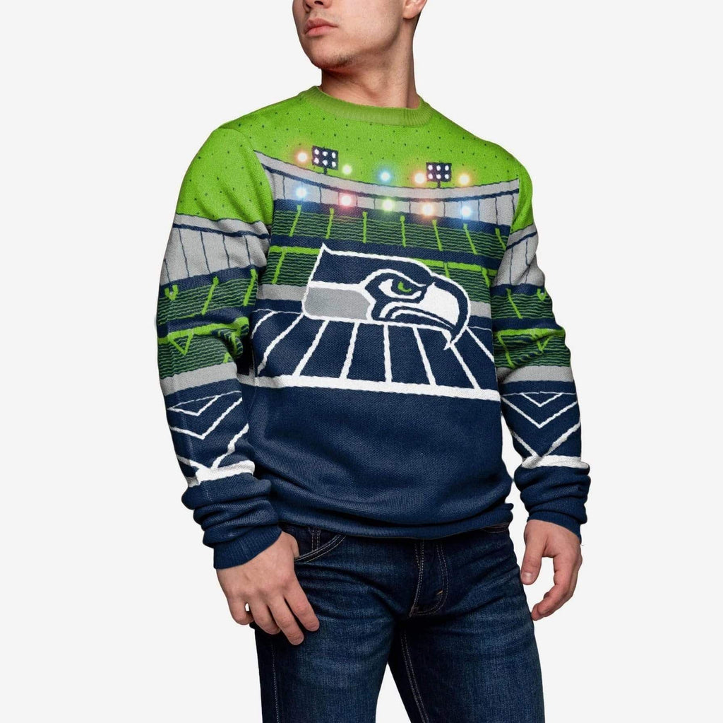 Seattle Seahawks Light Up Bluetooth Sweater