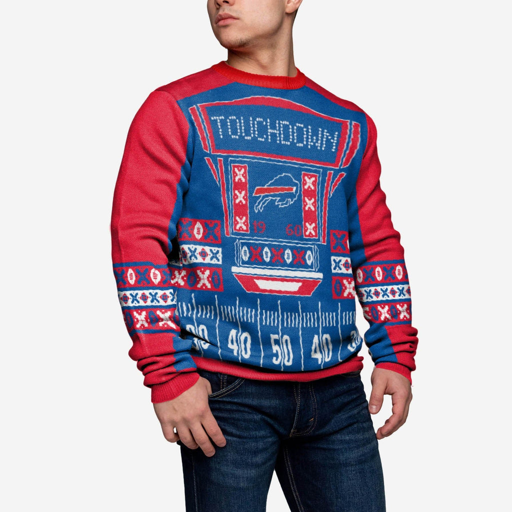 Buffalo Bills Ugly Light Up Sweater FOCO - FOCO.com