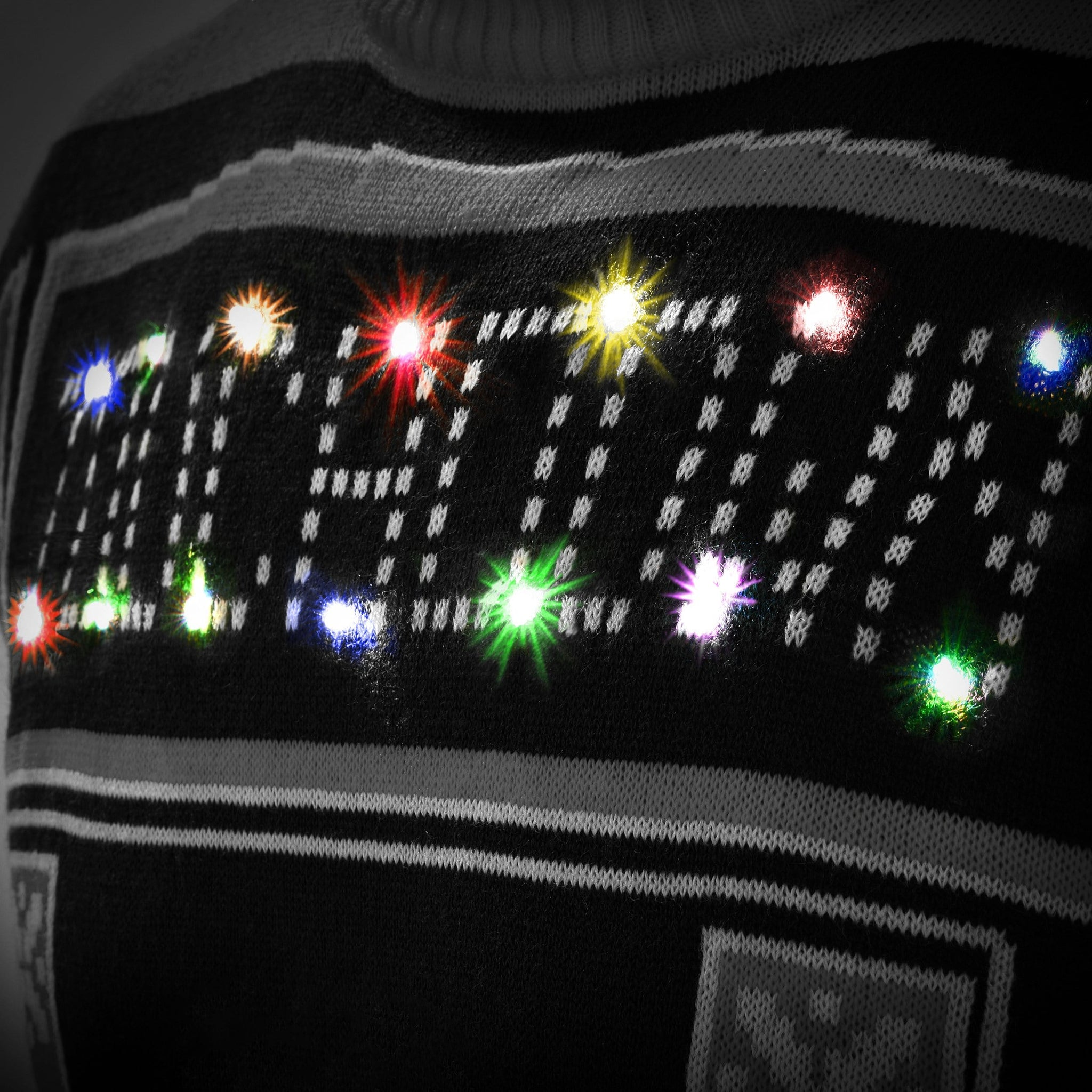 Baltimore Ravens Ugly Light Up Sweater