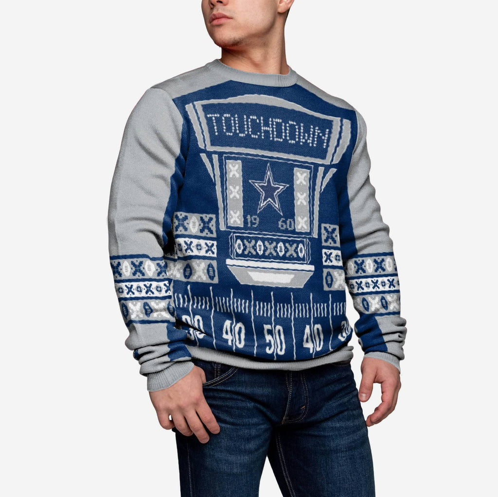 Dallas Cowboys Ugly Light Up Sweater FOCO - FOCO.com