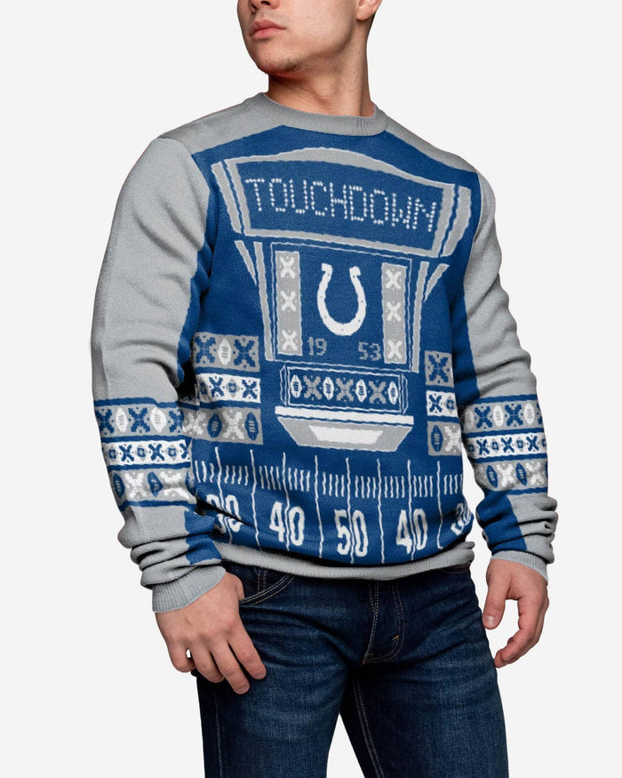 Indianapolis Colts Ugly Light Up Sweater FOCO - FOCO.com