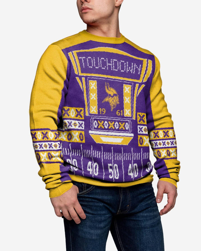 the best attitude 9d066 f9660 Minnesota Vikings Ugly Light Up Sweater