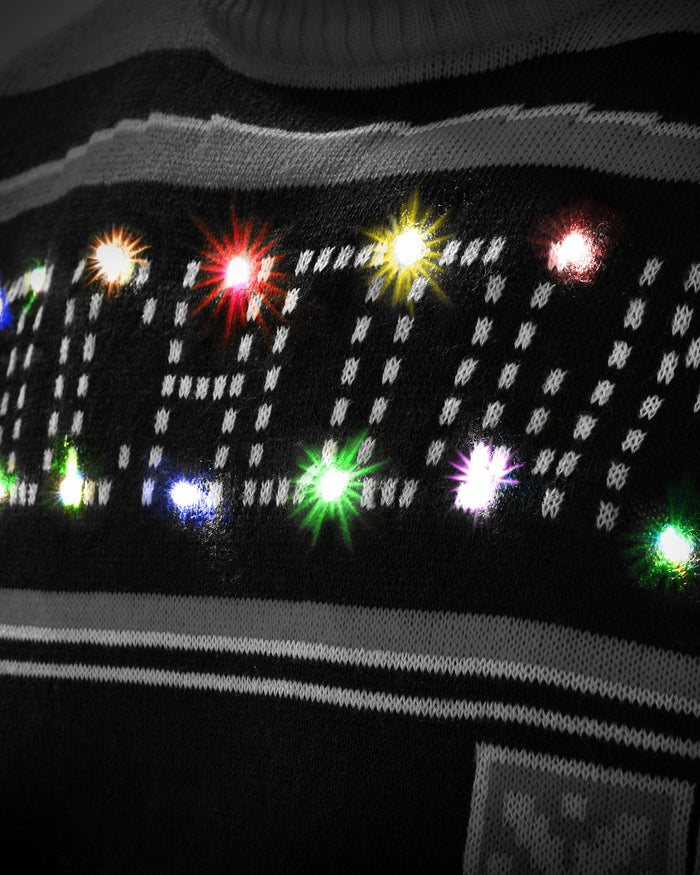 Las Vegas Raiders Ugly Light Up Sweater FOCO - FOCO.com