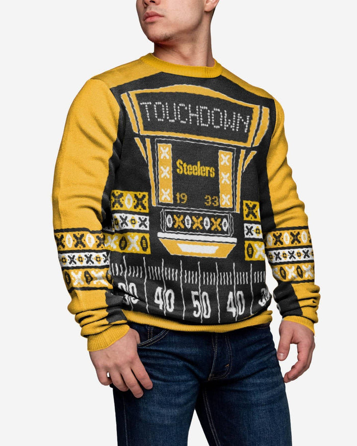 Pittsburgh Steelers Ugly Light Up Sweater FOCO - FOCO.com