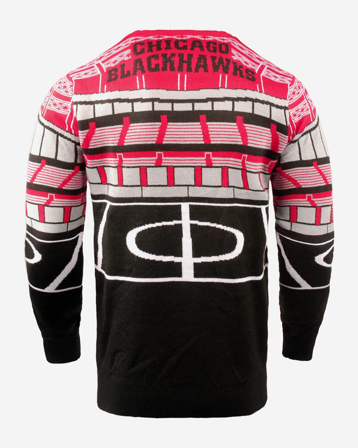 Chicago Blackhawks Light Up Bluetooth Sweater FOCO - FOCO.com