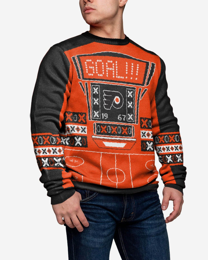 Philadelphia Flyers Ugly Light Up Sweater FOCO - FOCO.com