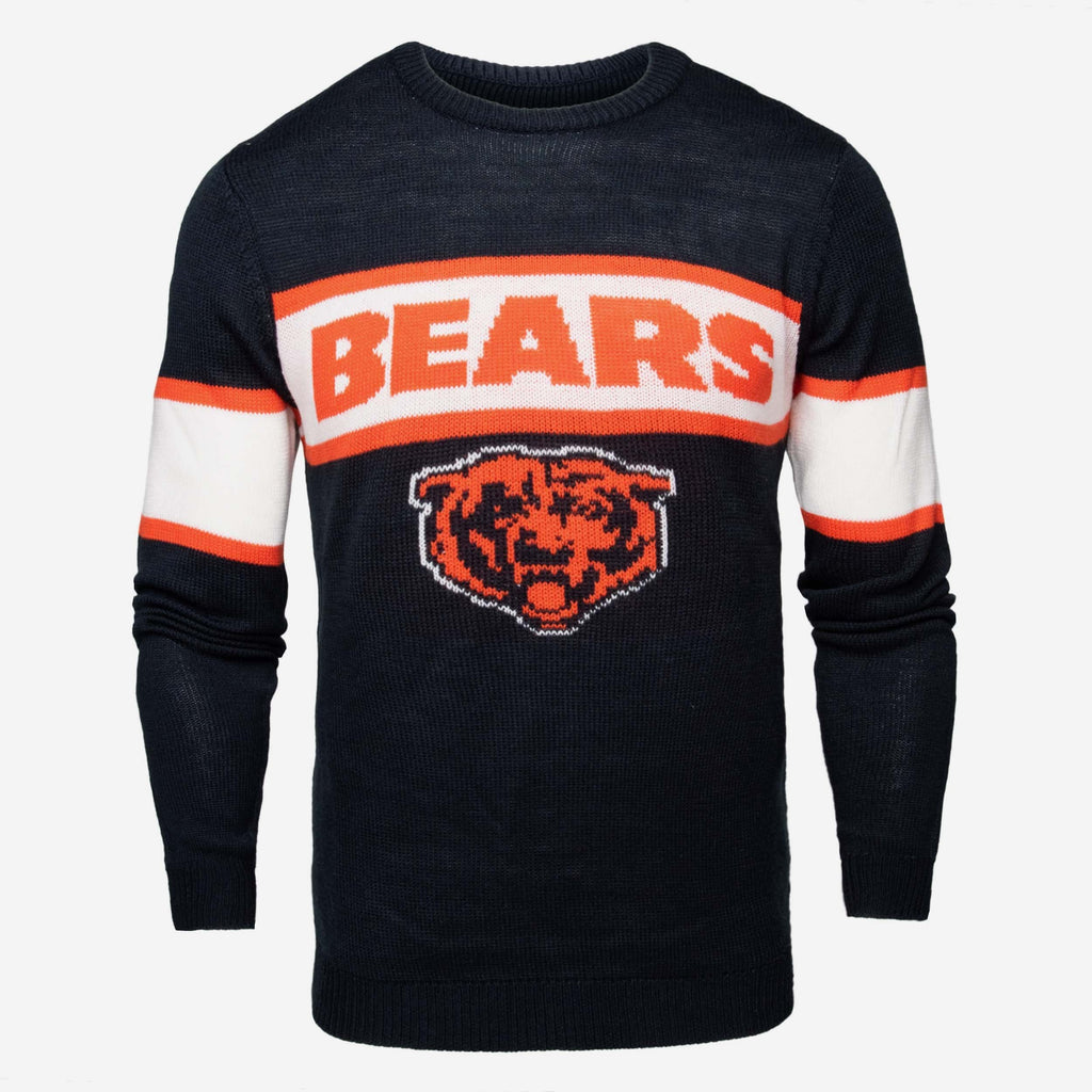 Chicago Bears Vintage Stripe Sweater