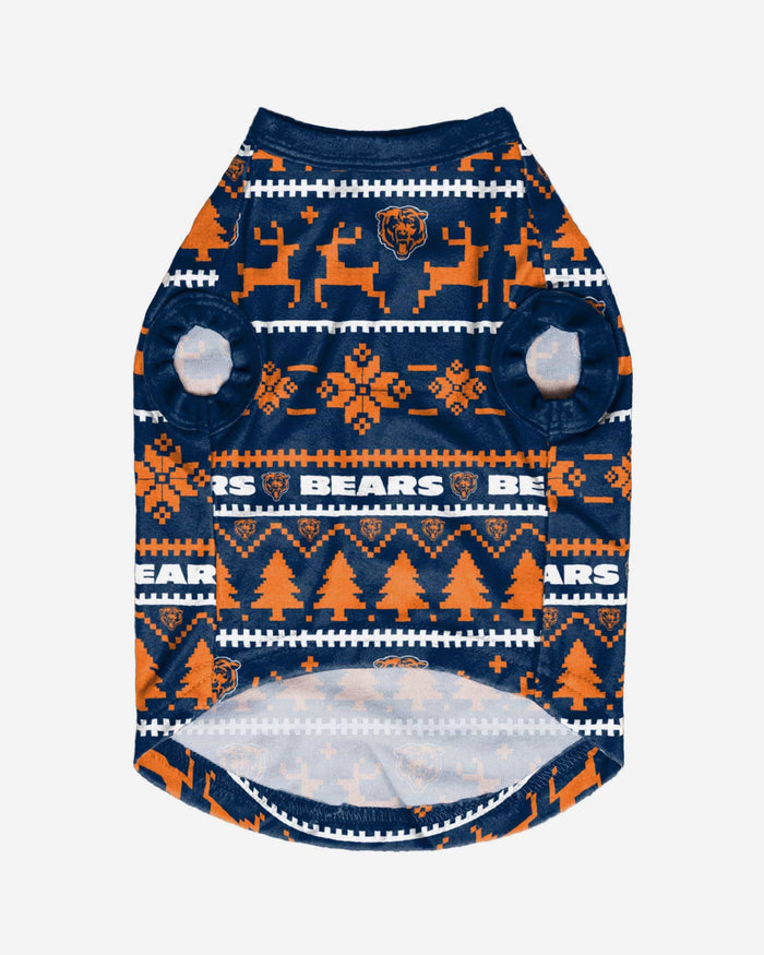 Chicago Bears Dog Family Holiday Sweater FOCO - FOCO.com
