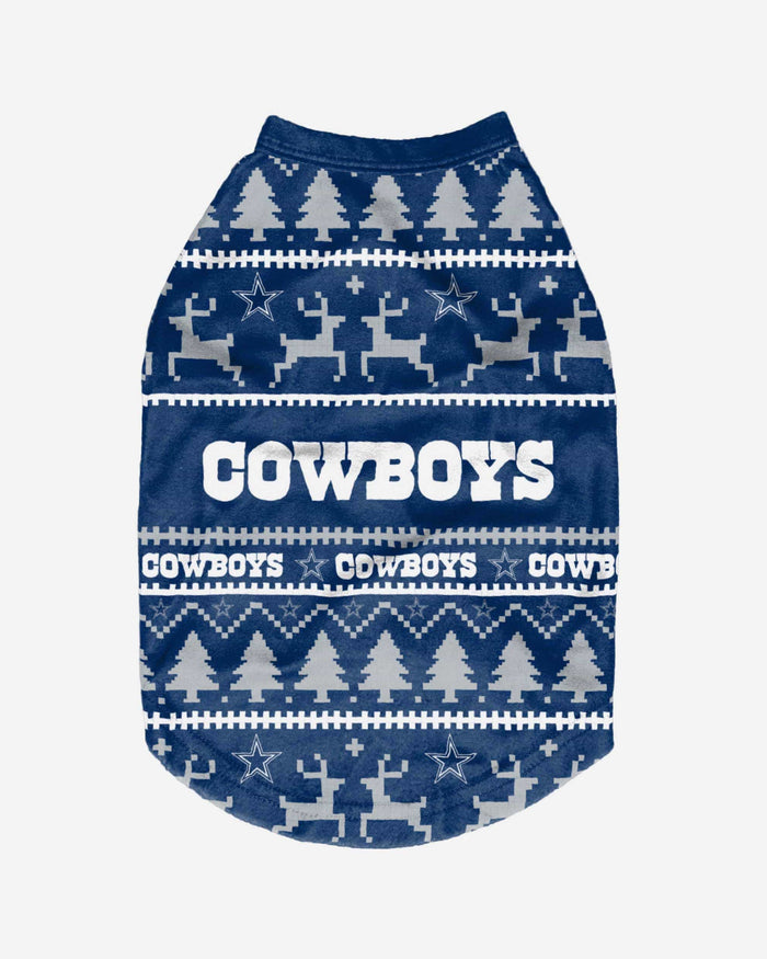 Dallas Cowboys Dog Family Holiday Sweater FOCO - FOCO.com