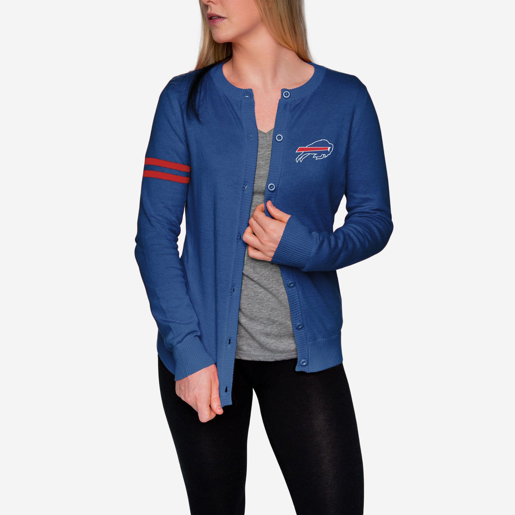 Buffalo Bills Womens Varsity Cardigan FOCO - FOCO.com