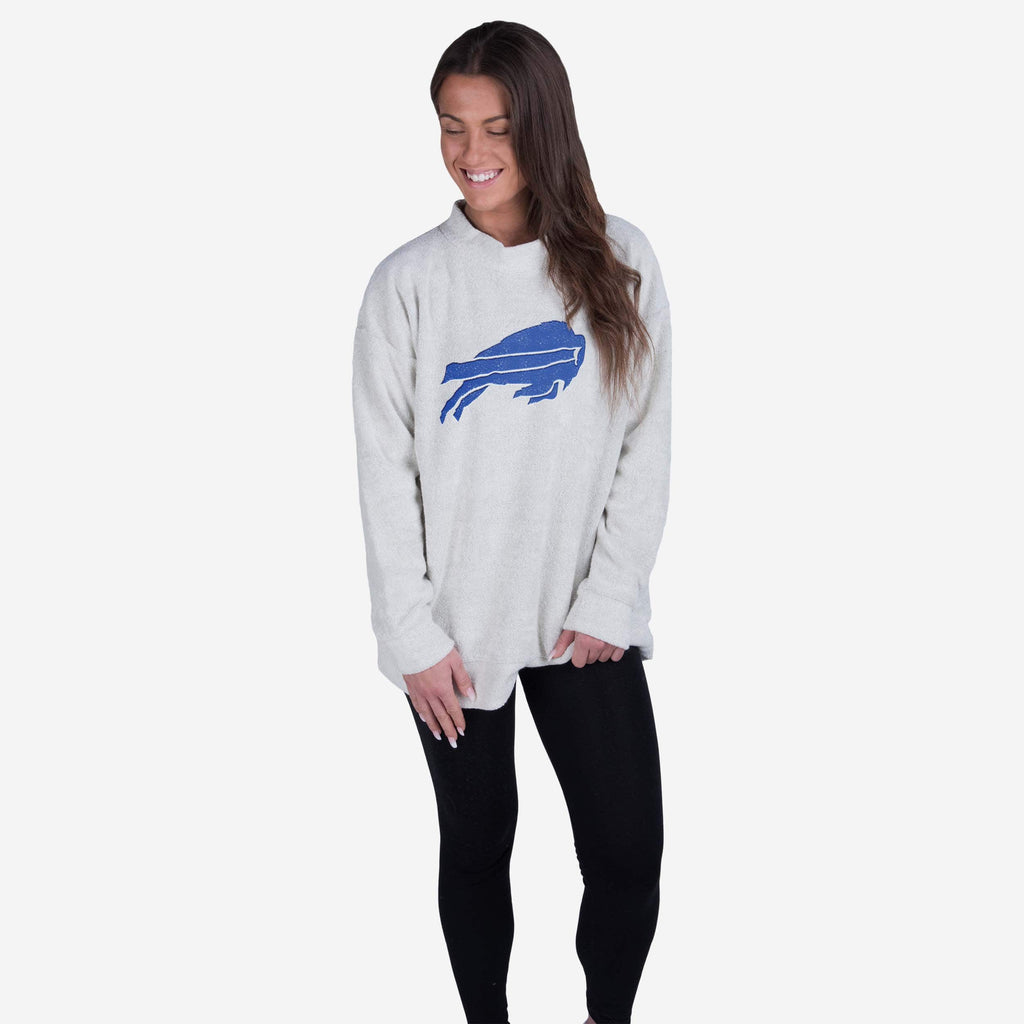 Buffalo Bills Womens Oversized Comfy Sweater FOCO - FOCO.com