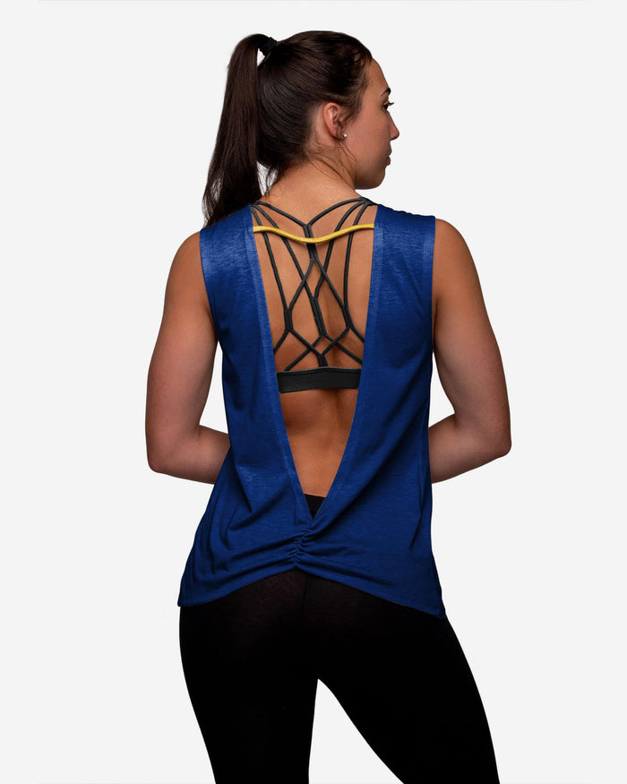 Milwaukee Brewers Womens Strapped V-Back Sleeveless Top FOCO - FOCO.com