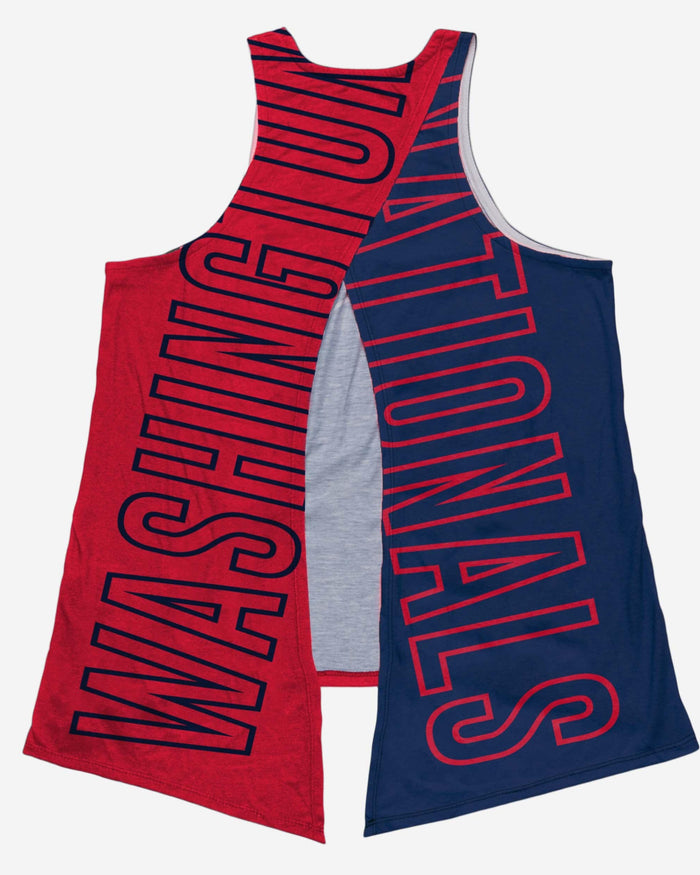 Washington Nationals 2019 World Series Champions Womens Tie-Breaker Sleeveless Top FOCO - FOCO.com