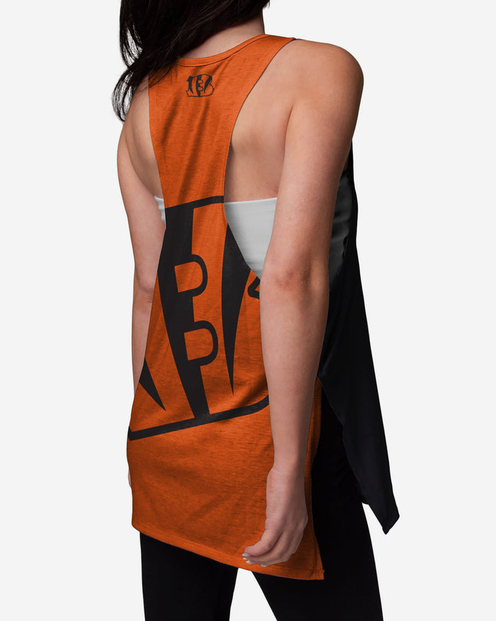 Cincinnati Bengals Womens Side-Tie Sleeveless Top FOCO - FOCO.com