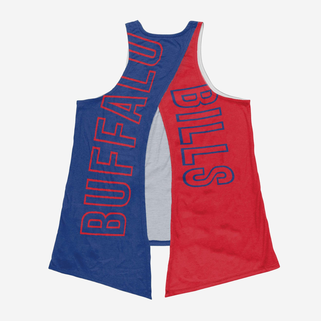Buffalo Bills Womens Tie-Breaker Tank FOCO - FOCO.com