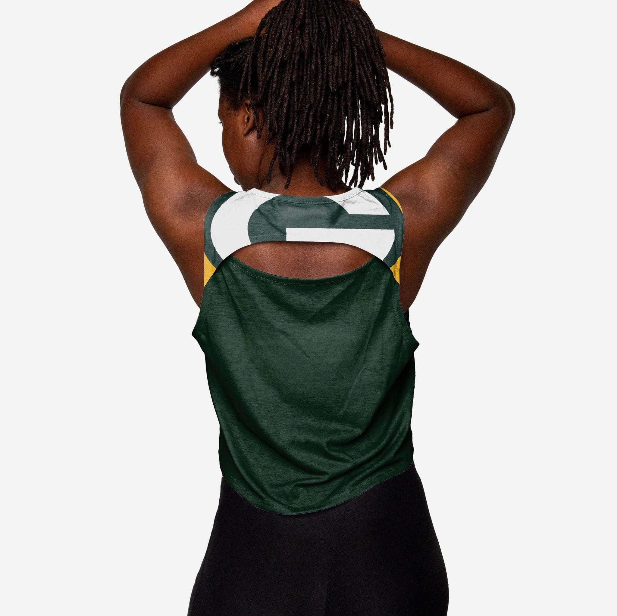 Discount Green Bay Packers Womens Croppin' It Tank