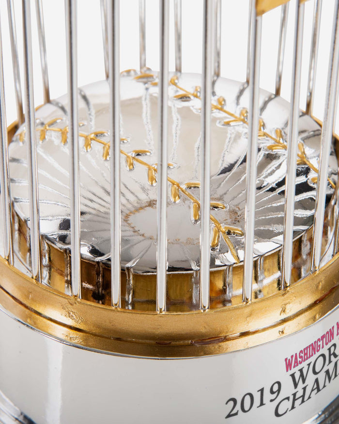 Washington Nationals 2019 World Series Champions Trophy Replica FOCO - FOCO.com