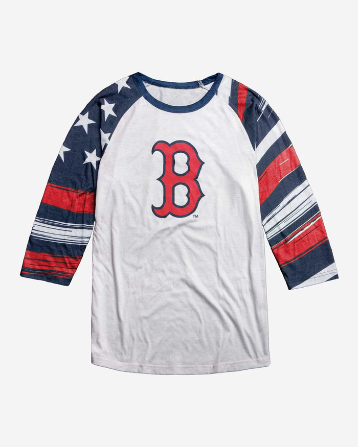 Boston Red Sox Americana Raglan T-Shirt FOCO - FOCO.com