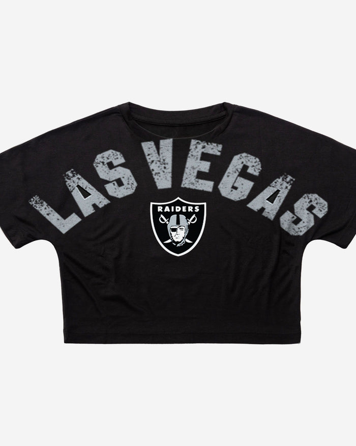 Las Vegas Raiders City Series Womens Crop Top FOCO - FOCO.com