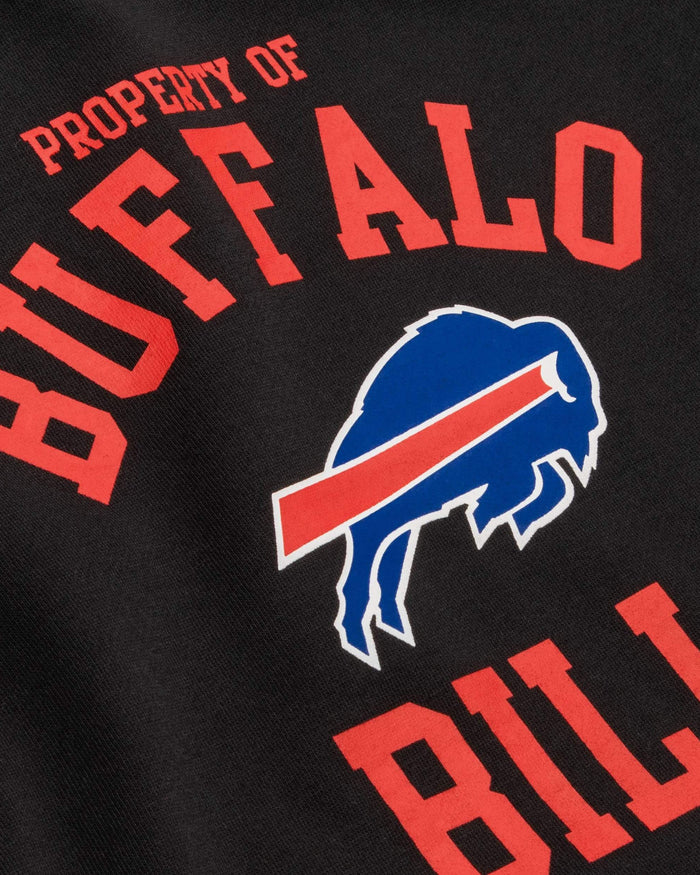 Buffalo Bills Womens Cropped Team Crewneck FOCO - FOCO.com