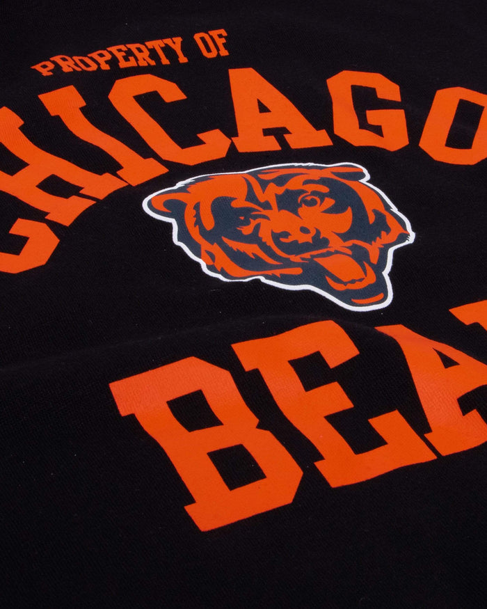 Chicago Bears Womens Cropped Team Crewneck FOCO - FOCO.com