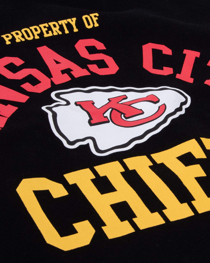 Kansas City Chiefs Womens Cropped Team Crewneck FOCO - FOCO.com