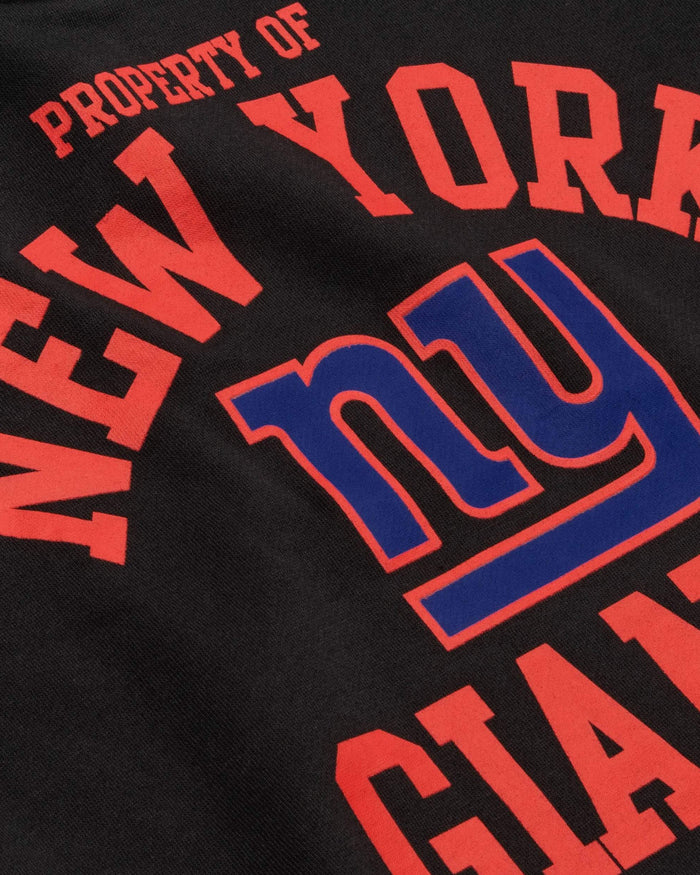 New York Giants Womens Cropped Team Crewneck FOCO - FOCO.com