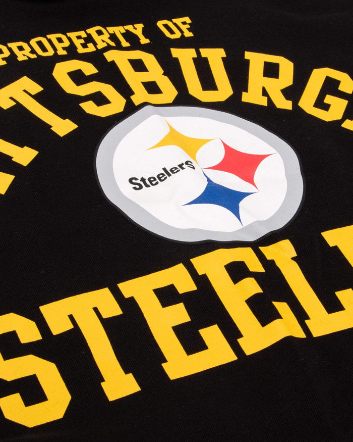 Pittsburgh Steelers Womens Cropped Team Crewneck FOCO - FOCO.com