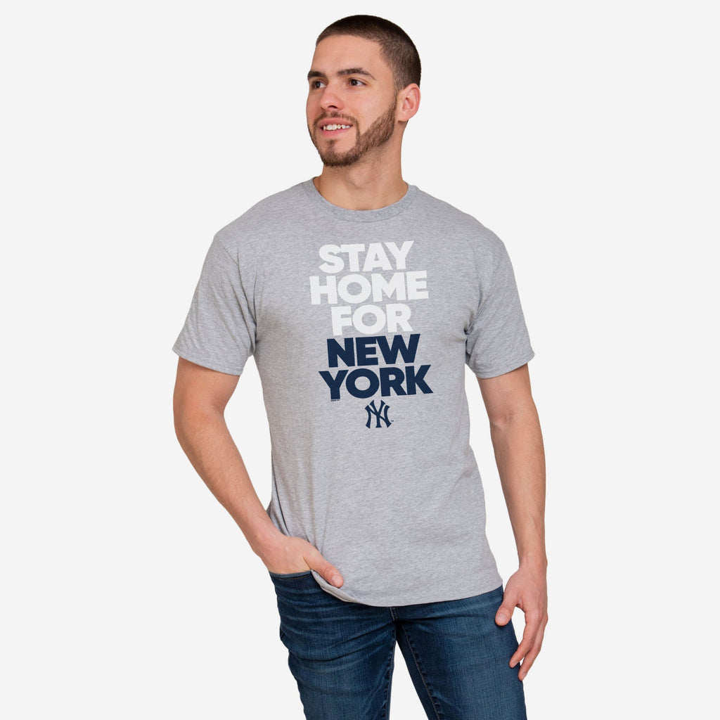 New York Yankees Mens Stay Home City T-Shirt FOCO S - FOCO.com