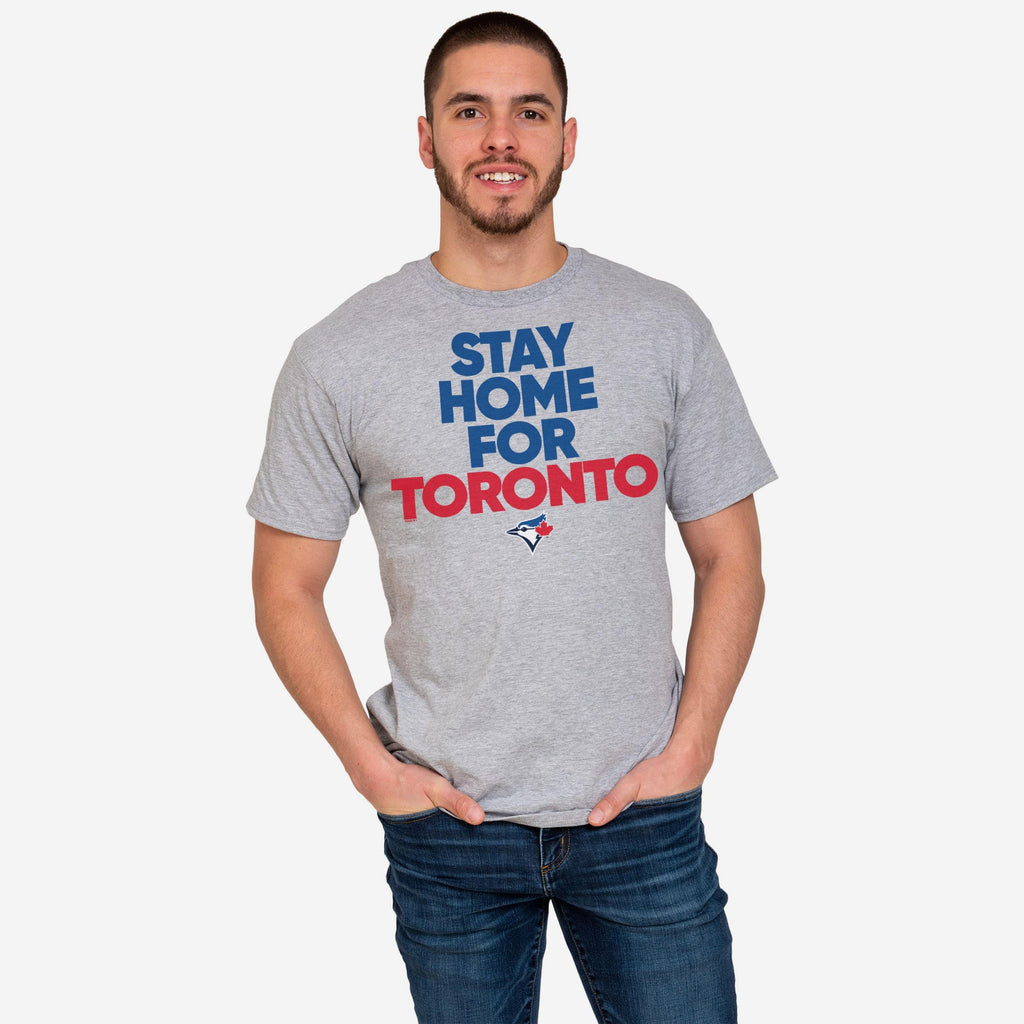 Toronto Blue Jays Mens Stay Home City T-Shirt FOCO S - FOCO.com