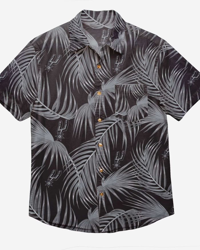 San Antonio Spurs Hawaiian Button Up Shirt FOCO - FOCO.com