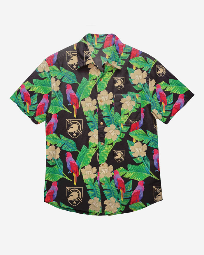 Army Black Knights Floral Button Up Shirt FOCO - FOCO.com