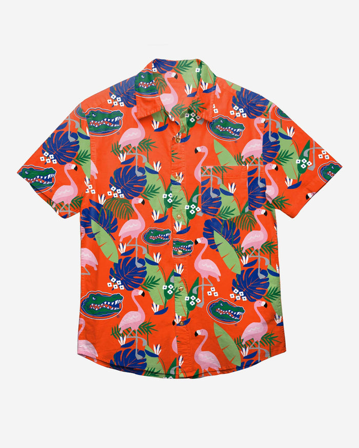 Florida Gators Floral Button Up Shirt FOCO - FOCO.com