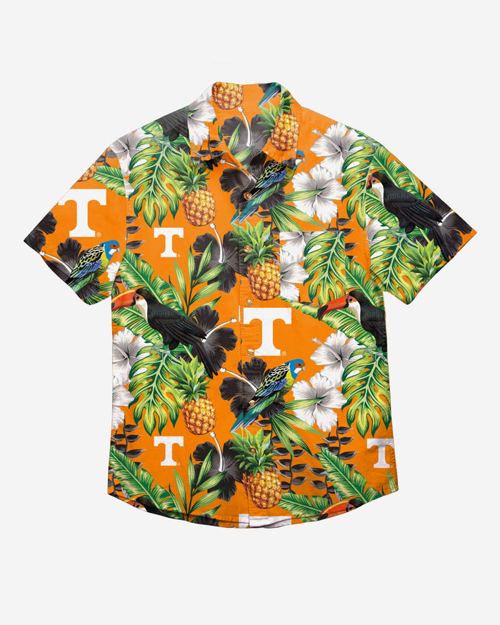 Tennessee Volunteers Floral Button Up Shirt FOCO - FOCO.com