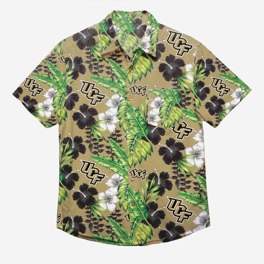 UCF Knights Floral Button Up Shirt