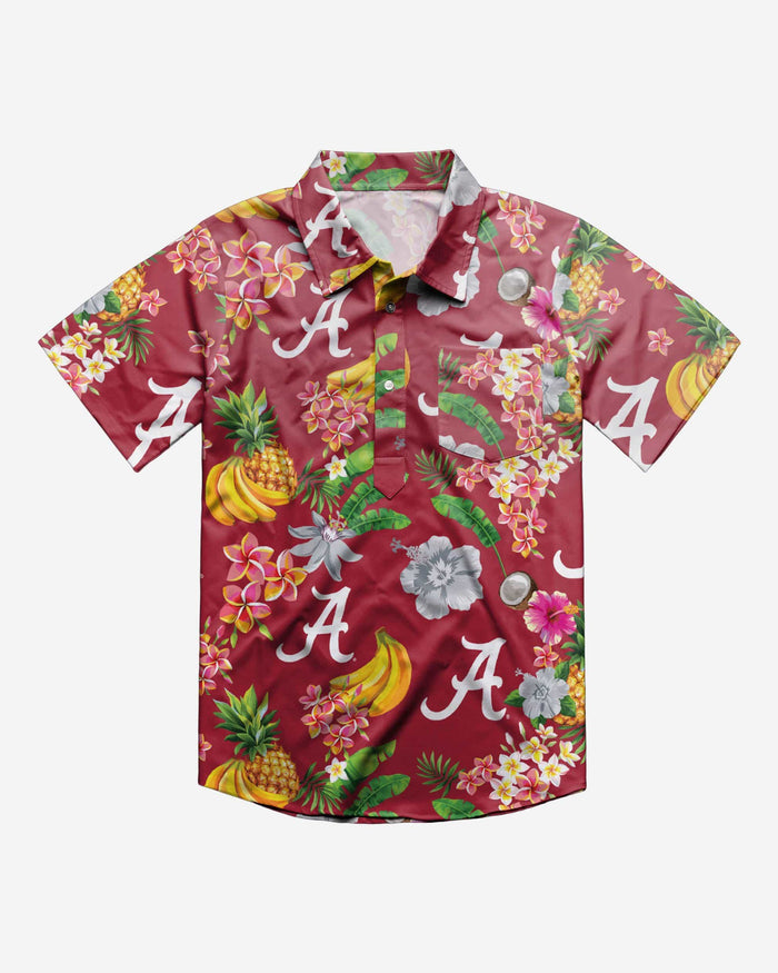 Alabama Crimson Tide Fruit Flair Short Sleeve Polo Shirt FOCO - FOCO.com