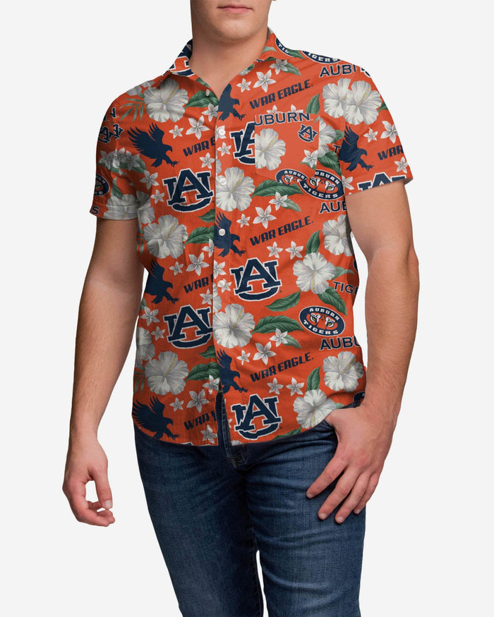 Auburn Tigers City Style Button Up Shirt FOCO S - FOCO.com