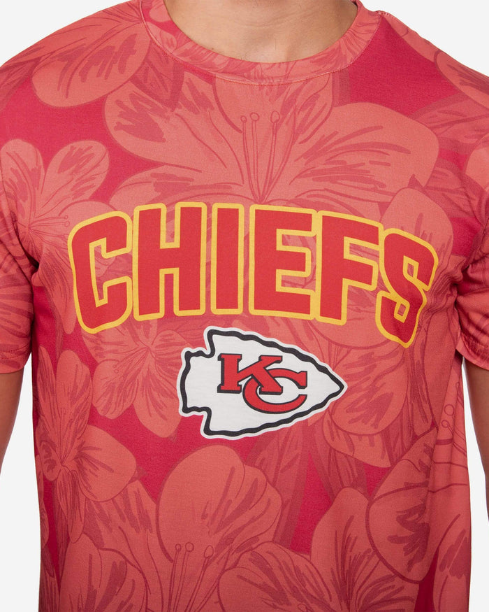 Kansas City Chiefs Hibiscus T-Shirt FOCO - FOCO.com