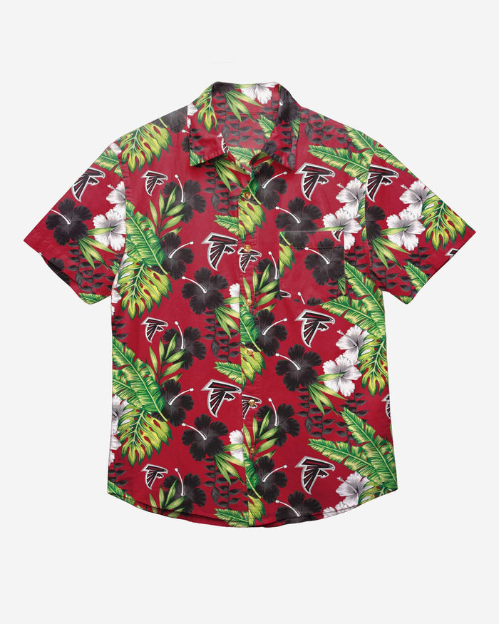 Atlanta Falcons Floral Button Up Shirt FOCO - FOCO.com