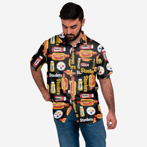 Pittsburgh Steelers Grill Pro Button Up Shirt