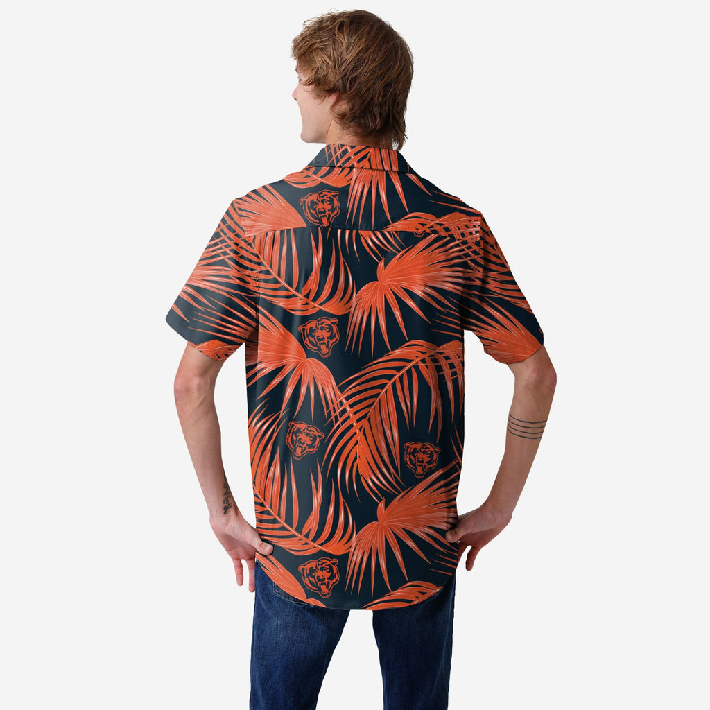 Chicago Bears Hawaiian Button Up Shirt FOCO - FOCO.com