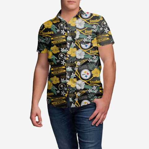 Pittsburgh Steelers City Style Button Up Shirt