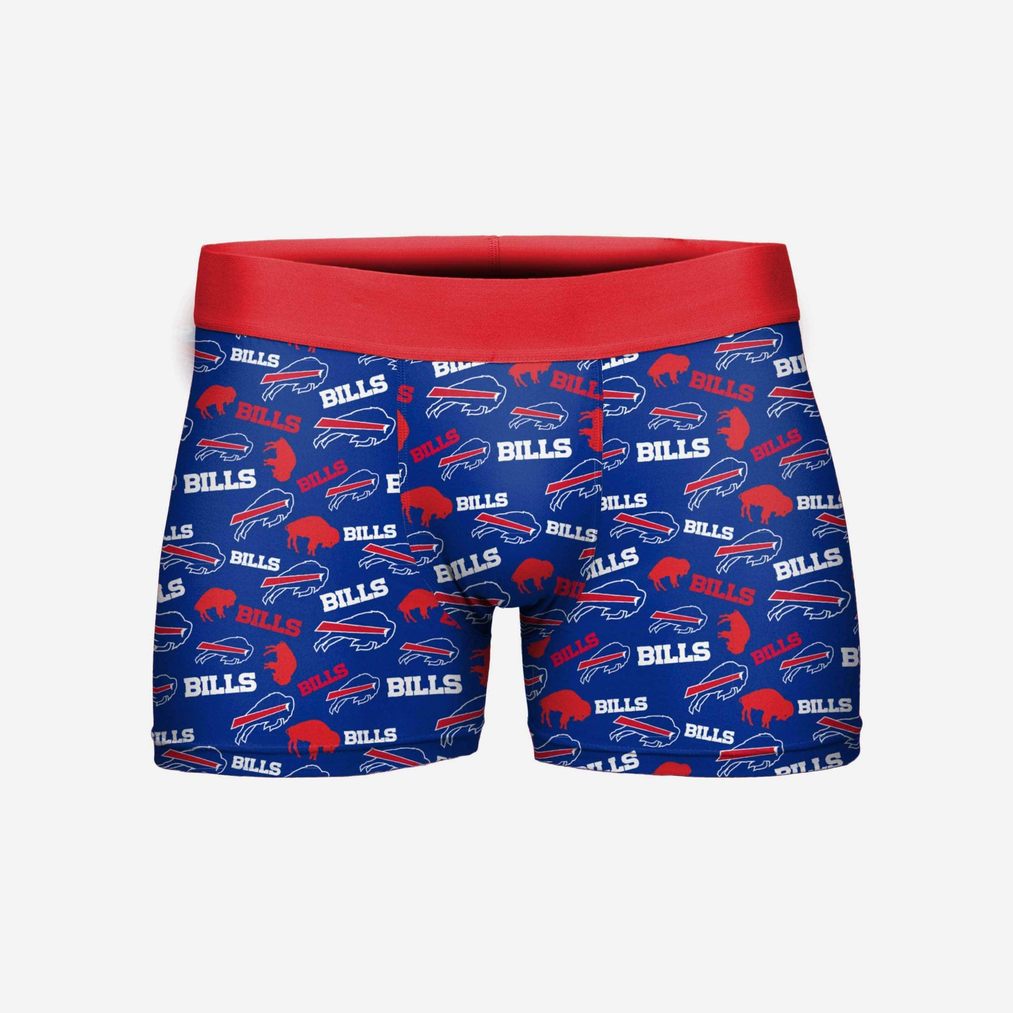 Buffalo Bills Repeat Logo Underwear FOCO - FOCO.com