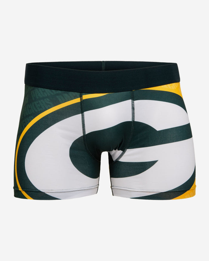 Green Bay Packers Printed Big Logo Underwear FOCO S - FOCO.com