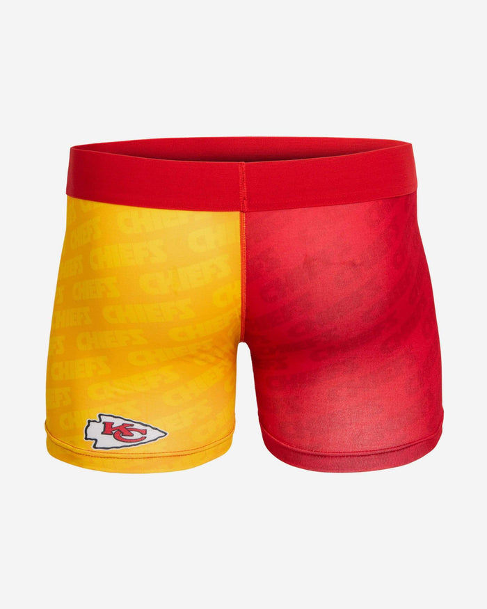 Kansas City Chiefs Printed Big Logo Underwear FOCO - FOCO.com