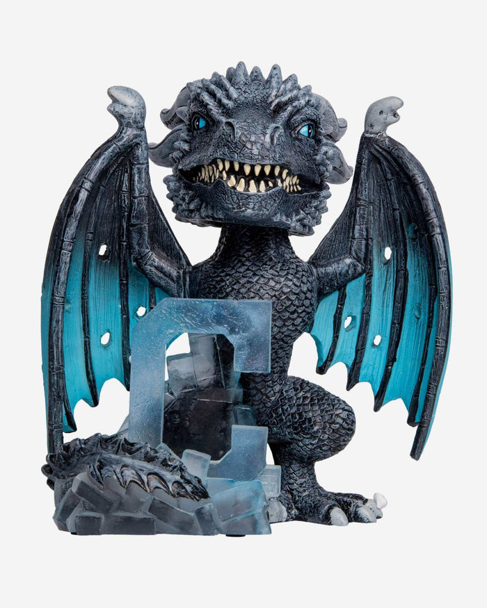 Cleveland Indians Game Of Thrones Fire Dragon & Ice Dragon Bobbleheads Set