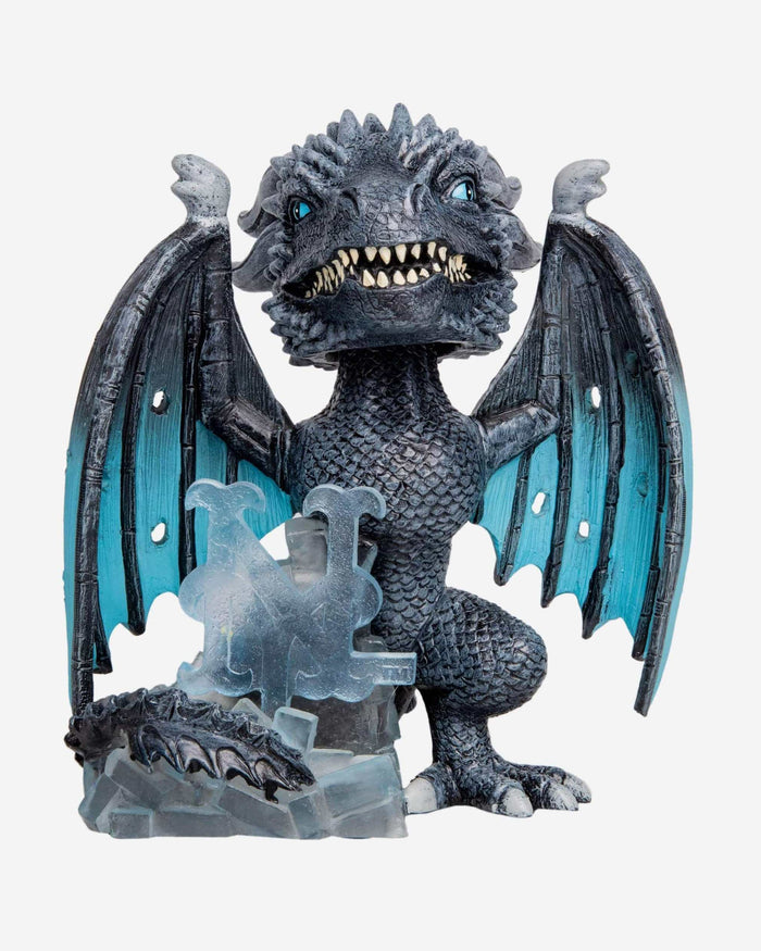 New York Mets Game Of Thrones Fire Dragon & Ice Dragon Bobbleheads Set FOCO - FOCO.com