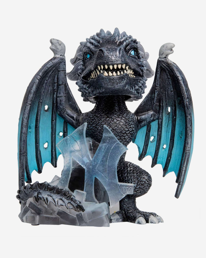 New York Yankees Game Of Thrones Fire Dragon & Ice Dragon Bobbleheads Set FOCO - FOCO.com