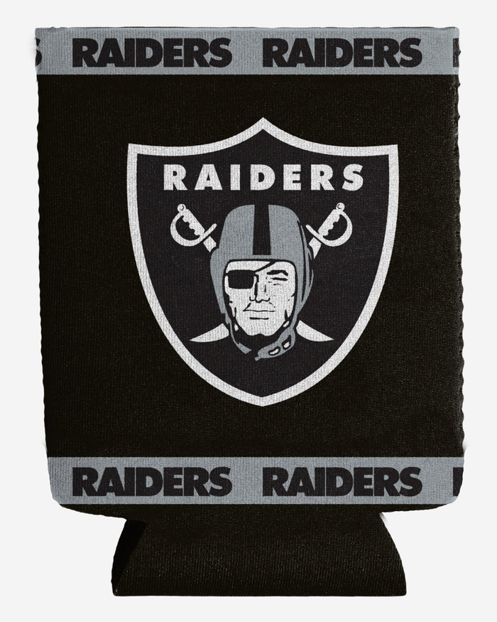 Oakland Raiders Insulated Can Holder FOCO - FOCO.com